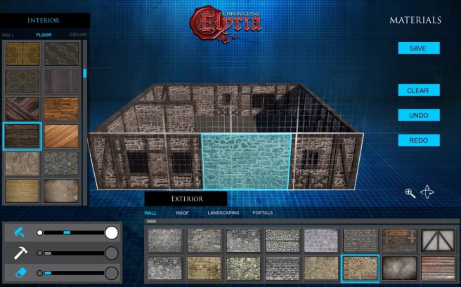 The architecture tool from Chronicles of Elyria.
