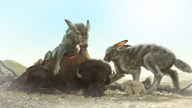 Canis rabbit concept art from Chonicles of Elyria